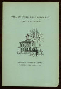 image of William Faulkner: A Check List