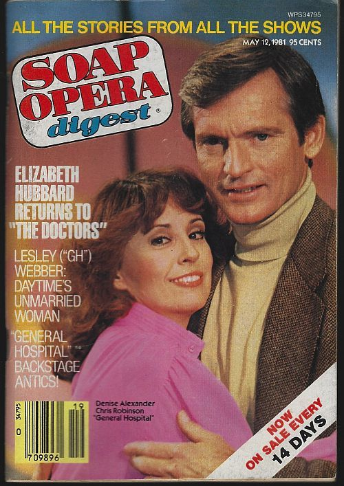 SOAP OPERA DIGEST MAY 12, 1981, Soap Opera Digest