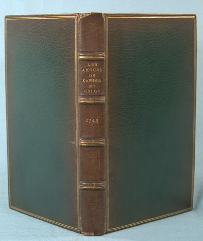 1745. (LONGUS). LES AMOURS PASTORALES DE DAPHNIS ET CHLOE. , 1745. Illustrated with an engraved titl...