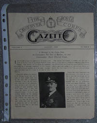 The Royal Observer Corps Gazette Vol. 1 No 1