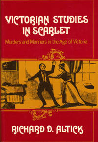 VICTORIAN STUDIES IN SCARLET ~Murders and Manners in the Age of Victoria