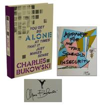You Get So Alone at Times That It Just Makes Sense by  Charles Bukowski - Signed First Edition - 1986 - from Burnside Rare Books, ABAA (SKU: 140937448)