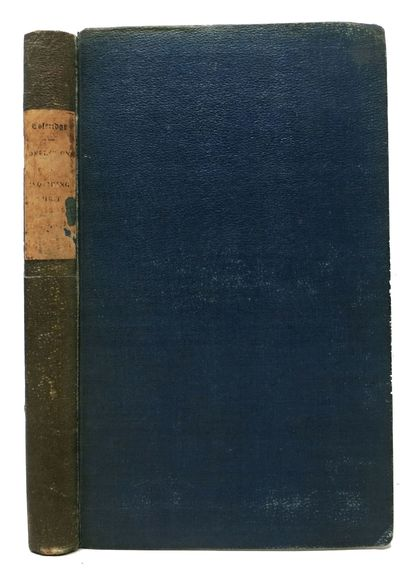 London: Wm. Pickering, 1840. 1st edition (NCBEL III, 219). Original publidher's blue cloth w/ paper ...