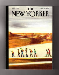 The New Yorker - October 26, 2015.  Lorenzo Mattotti Cover, 'On the Way'. Lesley Nneka Arimah Fiction, 'Who Will Greet You At Home'; Jeb Bush; Math Anxiety; Svetlana Alexievich; Syrian Refugee's Odyssey; Ivo van Hove