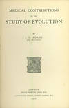 Medical contributions to the study of evolution