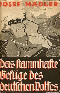Das stammhafte Gefüge des deutschen Volkes.