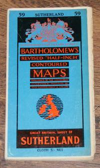 "Sutherland - Bartholomew's Revised ""Half-Inch"" Contoured Maps, Great Britain Sheet 59"