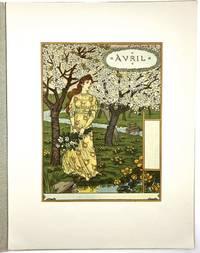 [GRASSET, EUG»NE- Printed Before Type] Les Mois: Douze Compositions gravÈes sur bois & imprimÈes en chromotypographie