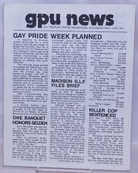image of GPU News [vol. 2, #8] May/June 1973: Gay Pride Week Planned
