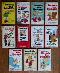 Dennis the Menace -- a collection of eleven vintage paperback books