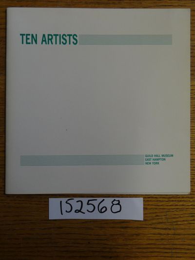 East Hampton, New York: Guild Hall Museum, 1988. Softcover. G (Covers have aged esp. along outer spi...