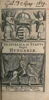 RESPUBLICA ET STATUS REGNI HUNGARIÆ
