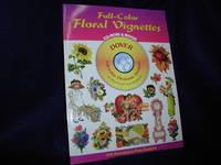 image of Full-Color Floral Vignettes: CD-ROM & Book