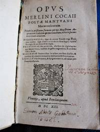 image of Opus Merlini Cocaii Poetae Mantuani Macaronicorum