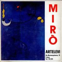 J. Mirò. Opere scelte dal 1924 al 1960