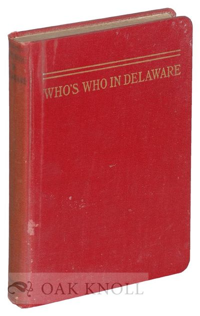 Philadelphia: The National Biographical Society, 1932. cloth. 8vo. cloth. 226 pages. B1-466. First e...