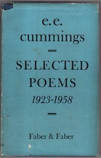 image of Selected Poems, 1923-1958.