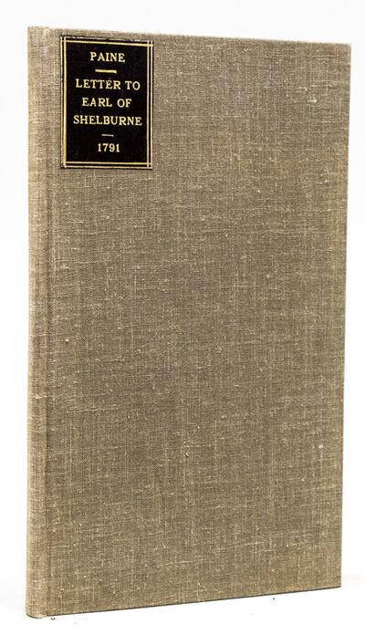 Dublin: William Wilson, 1791. First Dublin Edition. 48pp. 1 vols. 8vo. Modern cloth, black label on ...