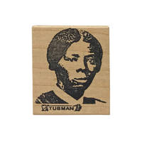 Rubber stamp featuring Harriet Tubman, for use on the United States $20 bill