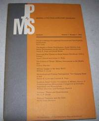 Journal of Political and Military Sociology (JPMS) Volume 1, Number 1, 1973