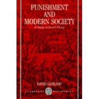 image of PUNISHMENT AND MODERN SOCIETY A Study in Social Theory