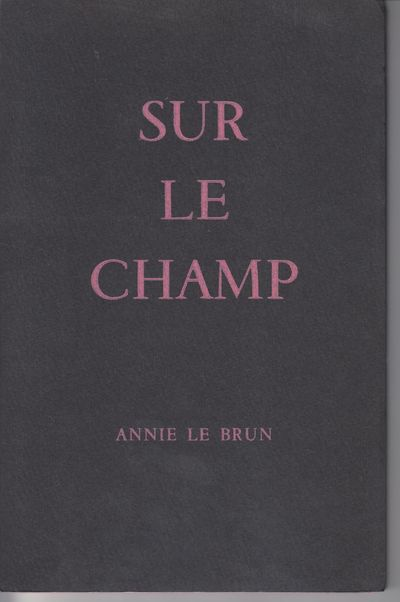 Paris: Editions Surrealiste. 1967. First Edition; First Printing. Softcover. Wraps, one of 900 copie...