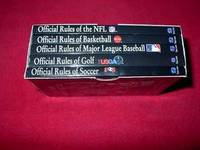 Make the Right Call : [1] Official Rules of the NFL; [2] Official Rules of Basketball; [3] Official Rules of Major League Baseball; [4] Official Rules of Golf; [5] Official Rules of Soccer