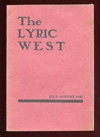 Magazine: The Lyric West, July-August, 1921
