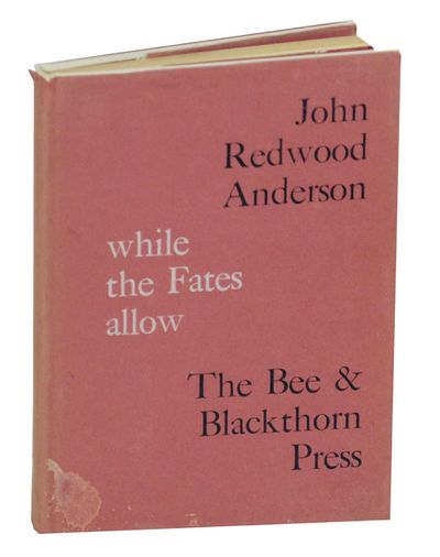 Beckenham: The Bee & Blackthorn Press, 1962. First edition. Hardcover. 81 pages. A collection of poe...