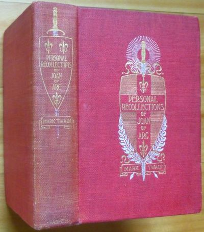 1896. By The Sieur Louis de Conte (her page and secretary). Freely Translated... by Jean François A...