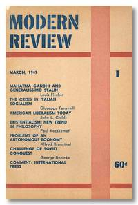 MODERN REVIEW by Modern Review - 1950 - from William Reese Company - Literature ABAA-ILAB (SKU: WRCLIT50052)