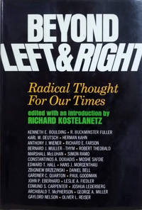 image of Beyond Left and Right:  Radical Thought for Our Times