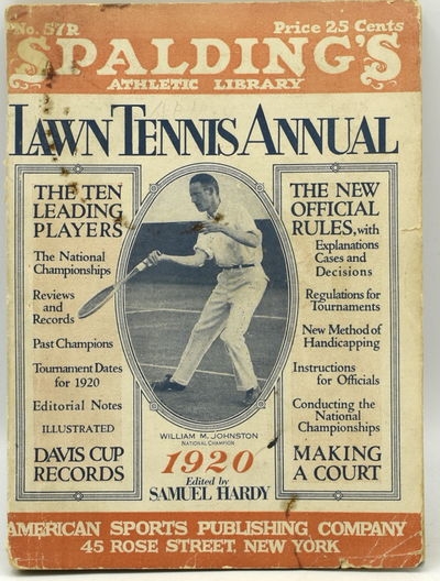 New York: American Sports Publishing Company, 1920. Original Wrappers. Very Good binding. 16mo.; in ...