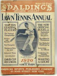 [TENNIS] SPALDING'S LAWN TENNIS ANNUAL 1920