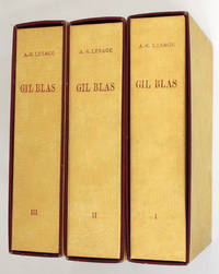 Histoire de Gil Blas de Santillane. Illustrations de Jean Gradassi
