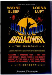 Hollywood Broadway - The Musicals  ( CONCERT PROGRAMME)