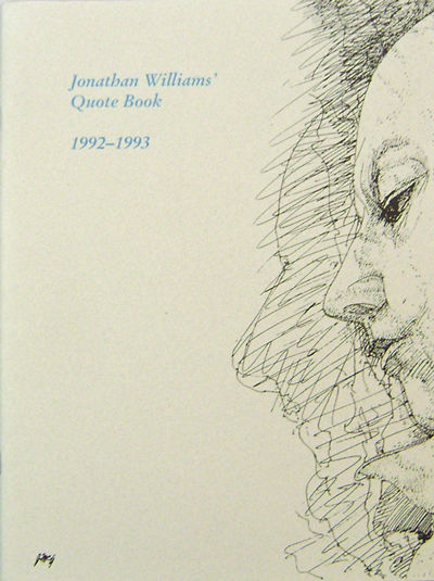 Highlands, NC: The Press of Otis the Lamedvovnik, 1994. First edition. Paperback. Fine. 4to. 37 pp. ...