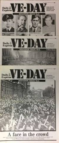 VE-Day. 3 part souvenir. Daily Express. May 1st, 2nd, & 3rd, 1995