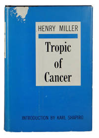 collectible copy of Tropic of Cancer