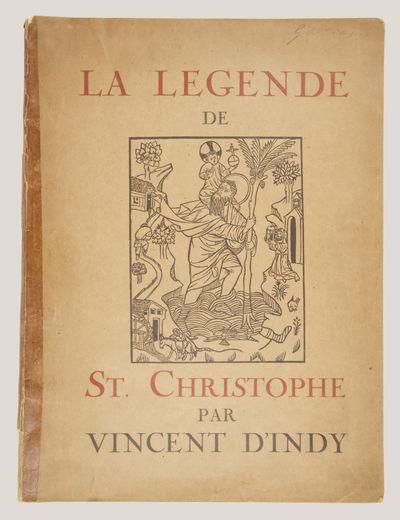 Paris: Rouart, Lerolle , 1920. Folio. Original publisher's dark ivory illustrated wrappers printed i...