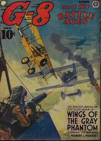 """G-8 AND HIS BATTLE ACES: October, Oct. 1942 (""""Wings of the Gray Phantom"""")"""