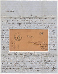 Letter from a student at Wesleyan University to a friend attending Charlotte Academy describing admission requirements and encouraging him to attend Wesleyan the following term