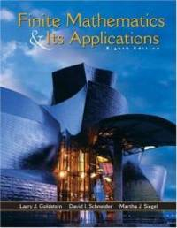 Finite Mathematics and Its Applications by Larry J. Goldstein - Hardcover - 2003-03-06 - from Books Express and Biblio.com