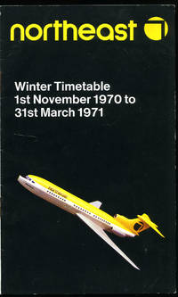 Northeast (A Member of the British Air Services Group) | Airline Flight Scheduled Services Timetable | Winter Timetable (1st November 1970 to 31st March 1971).