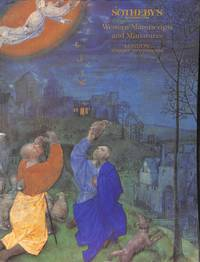 Sale 20 June 1995: Western Manuscripts and Miniatures. With a collection  of Hebrew Incunabula.