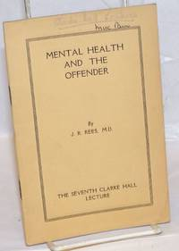 image of Mental Health and the Offender