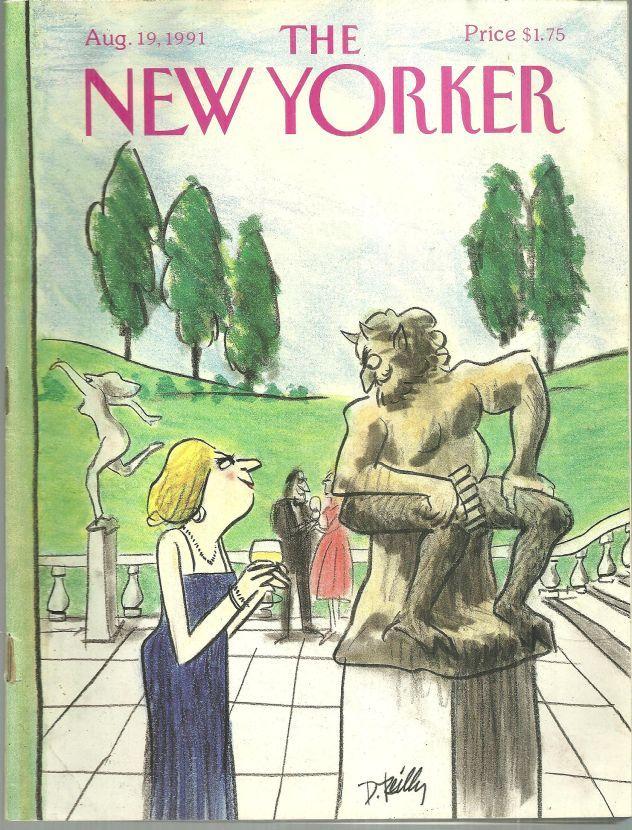 NEW YORKER MAGAZINE AUGUST 19, 1991, New Yorker