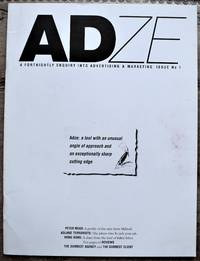 ADZE A Fortnightly Enquiry Into Advertising & Marketing Issue No 1