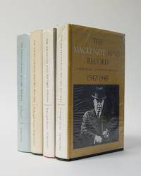 The Mackenzie King Record. (4 Volumes)