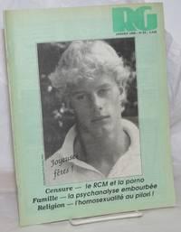 image of Le magazine RG: le mensuel gai Québécois; numéro 64, Janvier 1988: Censure - le RCM at la porno